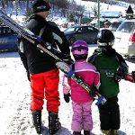2 Pièces porte skis Porte-Épaules Réglable Bandoulière de Ski pour Transport de Skis de la marque HOGAR AMO image 5 produit