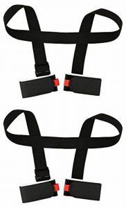 2 Pièces porte skis Porte-Épaules Réglable Bandoulière de Ski pour Transport de Skis de la marque image 0 produit