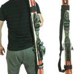 2 Pièces porte skis Porte-Épaules Réglable Bandoulière de Ski pour Transport de Skis de la marque image 4 produit