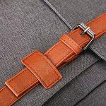 # 207 épaule double 17 pouces sac à dos 11,12,13 pouces ordinateur portable avec nylon imperméable Gris de la marque image 6 produit