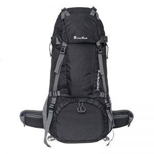 70L Trekking Sac avec housse de pluie pour l'escalade,le camping,la randonnée pédestre, Voyage et Alpinisme de la marque image 0 produit