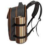 ALLCAMP 4 Panier de sac à dos de pique-nique Sac isotherme avec Service de table et couverture de la marque image 5 produit