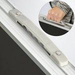 AMANKA Table de camping pique-nique pliable réglable en hauteur 120x60x70cm en aluminium pliant format mallette Gris Foncé de la marque image 4 produit