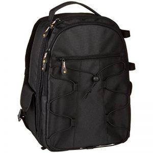 AmazonBasics Sac à dos pour Appareil Photo Reflex et accessoires Noir de la marque AmazonBasics image 0 produit