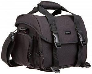 AmazonBasics Sacoche Gadget pour appareil photo reflex numérique et accessoires modèle L intérieur gris de la marque AmazonBasics image 0 produit