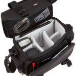 AmazonBasics Sacoche Gadget pour appareil photo reflex numérique et accessoires modèle L intérieur gris de la marque AmazonBasics image 2 produit