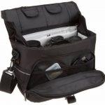 AmazonBasics Sacoche Gadget pour appareil photo reflex numérique et accessoires modèle M intérieur gris de la marque AmazonBasics image 1 produit