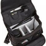 AmazonBasics Sacoche Gadget pour appareil photo reflex numérique et accessoires modèle M intérieur gris de la marque AmazonBasics image 2 produit