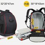 Anbee Backpack Sac à dos pour DJI Phantom 2 3 4 Vision FC40 Quadcopter de la marque Anbee image 4 produit