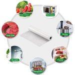Appareil de mise sous Vide Sac sous Vide, Rouleaux d'emballage pour Machine sous vide 3 Pack 20x500cm pour Économiseur de nourriture de la marque KitchenGynti image 3 produit