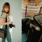 BAGSMART Housse pour Appareil Photo Reflex Numérique Canon/Nikon/Sony/Panasonic- Sacoche d'Appareil Photo Reflex en Nylon de la marque BAGSMART image 1 produit
