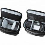 BAGSMART Housse pour Appareil Photo Reflex Numérique Canon/Nikon/Sony/Panasonic- Sacoche d'Appareil Photo Reflex en Nylon de la marque BAGSMART image 3 produit