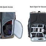 BAGSMART Sac à Dos pour Appareil Photo Reflex à la Mode Sac pour Reflex et Accessoires 29x18x44cm de la marque BAGSMART image 3 produit