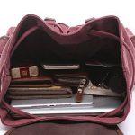 BAOSHA LP-13 élégant Femme Sac à dos Loisir Vintage Sac à dos de Collège Scolaire en Toile de la marque BAOSHA image 6 produit