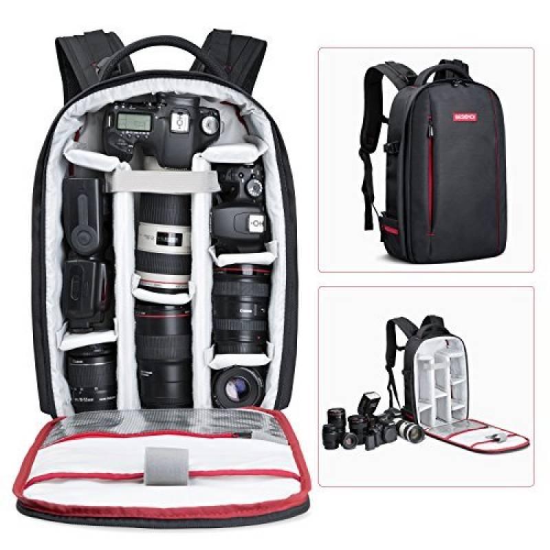 ea98602b83 beschoi-sac-dos-photo-sac-photo-sac -pour-appareil-photo-appareil-photo-etanche-sac-appareil-photo-reflex-sac-photo-reflex-ordinateur-trpied-noir-pour-dslr-  ...