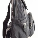 BHBS Unisexe léger Sac à dos Voyage Petit Tissu 24x30x15 cm (LxHxP) de la marque Big Handbag Shop image 2 produit