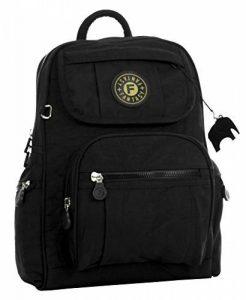 BHBS Unisexe léger Sac à dos Voyage Petit Tissu 24x30x15 cm (LxHxP) de la marque Big Handbag Shop image 0 produit