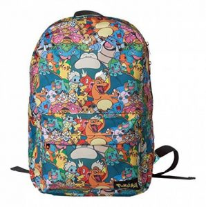 Bioworld POKEMON all over imprimer des caractères sac à dos Sac à dos, 45 cm, 15 litres, multicolore (multicolore) de la marque image 0 produit