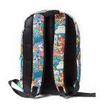 Bioworld POKEMON all over imprimer des caractères sac à dos Sac à dos, 45 cm, 15 litres, multicolore (multicolore) de la marque image 2 produit