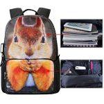 bistar Galaxy Motif Animal école sac à dos pour adolescents de la marque image 1 produit