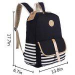BLUBOON Sacs à dos en toile Sacs scolaires loisir Cartable Sac de voyage de la marque BLUBOON image 2 produit