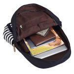 BLUBOON Sacs à dos en toile Sacs scolaires loisir Cartable Sac de voyage de la marque BLUBOON image 3 produit