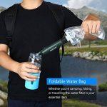 BOBLOV Purificateur d'eau Portable Mini Filtre à eau Urgence Personnel Survie 99.9999% avec Paille Vert Foncé pour les activités extérieurs(le Camping,la Randonnée et l'Escalade) de la marque image 1 produit
