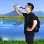 BOBLOV Purificateur d'eau Portable Mini Filtre à eau Urgence Personnel Survie 99.9999% avec Paille Vert Foncé pour les activités extérieurs(le Camping,la Randonnée et l'Escalade) de la marque image 3 produit