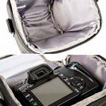 Bodyguard 5 * sac pour appareil photo reflex + 3-4 Objectifs - Nikon D800 D3200 D3300 D5100 D5200 D5300 D5500 D7000 D7100 D7200 Canon EOS 1200D 1300D 700D 750D 760D de la marque Bodyguard image 3 produit