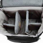 Bodyguard SLR M Sac photo pour body, 2objectifs pour Nikon D800D3200D3300D5100D5200D5300D5500D7000D7100D7200Canon EOS 1200D 1300D 700D 750D 760d de la marque Bodyguard image 4 produit