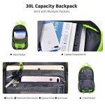 Bonibol 35L Sac à Dos Sportif ,Imperméable Sac à Dos Pour Voyage Randonnée Camping Trekking Alpinisme Etc de la marque image 6 produit
