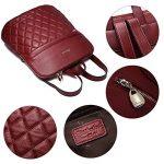 BOSTANTEN Sac à dos femme cuir sac à dos randonnée sac a dos fille cuir sac de voyage de la marque image 3 produit