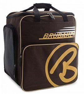 BRUBAKER 'Super Champion' - Série limitée - Sac à chaussures de ski, Sac casque, Sac à dos ski - Brun foncé Sable de la marque image 0 produit