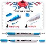 Bullet Journal Lot de 24feutres de coloriage, 0,4mm feutres à double pointe brosse Art marqueurs Fineliner, couleur à l'eau Dessin stylos de la marque image 3 produit
