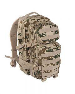 Camouflage Militaire Armée Sac à dos US assault pack 20L MOLLE Camo Tropical de la marque Miltec image 0 produit