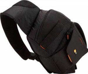 Case Logic - SLRC205 - Sac à dos épaule pour appareil photo reflex - Bretelle ajustable - Noir/orange de la marque Case Logic image 0 produit