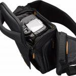 Case Logic - SLRC205 - Sac à dos épaule pour appareil photo reflex - Bretelle ajustable - Noir/orange de la marque Case Logic image 4 produit