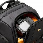 Case Logic SLRC206 Sac à dos semi-rigide pour appareil photo reflex, Ordinateurs portables 16 pouces et le MacBook Pro 17 pouces (Noir) de la marque Case Logic image 6 produit