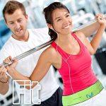 CEINTURE DE COURSE – Belt Sport Fitness Banane – Convient mieux pour les grand téléphones notamment l'iPhone X / 8 plus – Parfait pour les exercices d'entraînement, Gym, yoga et activités de plein air de la marque image 2 produit