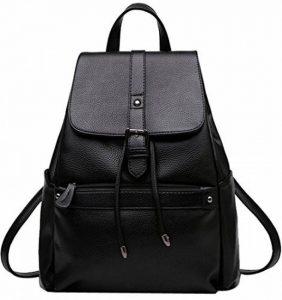 Coofit Cartable college femme sac à dos scolaire femme Sacs portés dos femme en cuir sac à dos randonnée femme de la marque Coofit image 0 produit