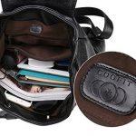 Coofit Cartable college femme sac à dos scolaire femme Sacs portés dos femme en cuir sac à dos randonnée femme de la marque Coofit image 3 produit