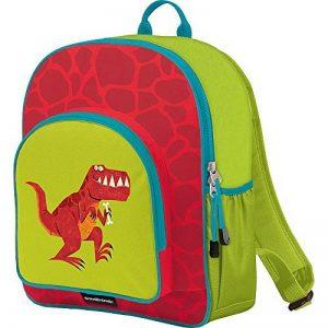 Crocodile Creek enfants Eco Dinosaure T- Rex Sac à dos d'école, Rouge, 35,6cm de la marque Crocodile Creek image 0 produit