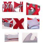 DE'LANCI Respirable Multifonction Porte-bébé, Réglable Antérieur Confortable Sangle de la marque DE'LANCI image 4 produit