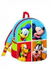 Diakakis - 0561490 - Sac à dos pour La crèche et les maternelles - Mickey Mouse - 25 x 31 x 10 Cm modèle aléatoire de la marque Diakakis image 0 produit