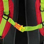 Docooler Sac à Dos Randonnée Unisexe 40L épaule Respirante Sac Etanche en Plein Air Voyager Alpinisme de la marque image 4 produit