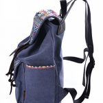 Douguyan Femme Sac à dos Sac de voyage Canevas Décontracté Loisir E00137 de la marque Douguyan image 1 produit