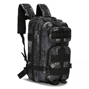 ECHI 3P Sac à dos tactique, militaire imperméable à l'eau Sacs à dos de randonnée pour randonnée en plein air Camping Trekking Chasse de la marque image 0 produit