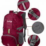 EcoCity Ultra-léger 30L ripstop imperméable pliable randonnée Daypacks Voyage marked Camping Randonnée Trekking Alpinisme avec système d'hydratation de la marque EcoCity image 6 produit