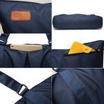 Elenture Sac extra large pour tapis de yoga, sac de gymnastique, sac de pilates, sac marin fourre-tout de la marque image 4 produit