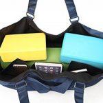 Elenture Sac extra large pour tapis de yoga, sac de gymnastique, sac de pilates, sac marin fourre-tout de la marque image 6 produit